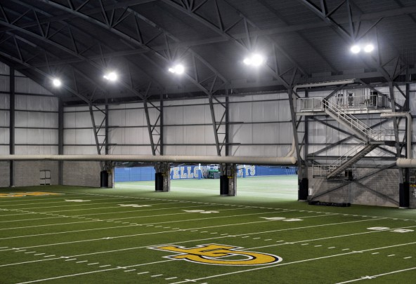 The John and Mary Brock Indoor Practice Facility