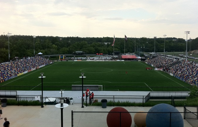 Silverbacks Park will get rowdy on Saturday for the rematch with the Cosmos.