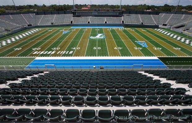 Tulane's new 30,000 seat on-campus stadium c/o nola.com