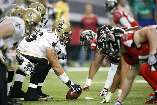 The Falcons and Saints tee it up at 1 PM on Sunday. c/o cnbc.com