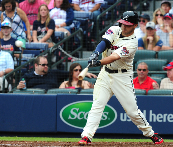 Is TLS a long term cure for Uggla-itis? (July 19, 2014 - Source: Scott Cunningham/Getty Images North America)