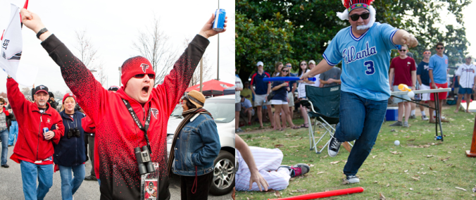 Tailgating in the South is a tradition. Who does it best in Atlanta?