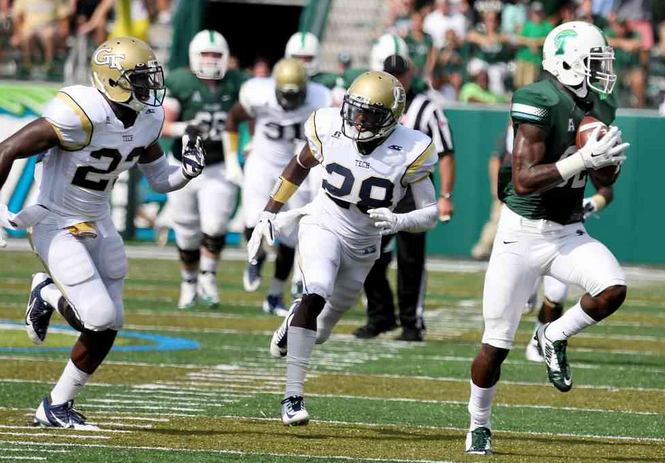 Georgia Tech once again stumbled out of the gate before coming on strong in the second half.