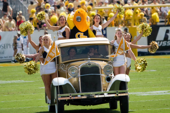 The Ramblin Wreck has a week off before hosting Miami next Saturday.