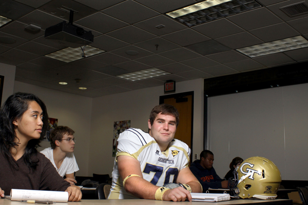 Sean Bedford was a leader both on the field and in the classroom. c/o gtalumnimag.com