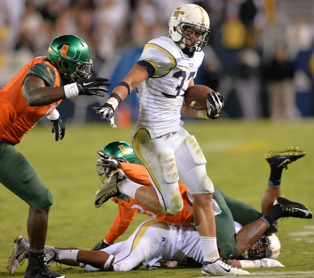 Laskey punished the Miami D all night long c/o ajc.com